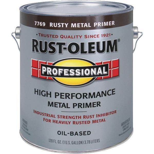 1 Gal Rustoleum Stops Rust Red Brown Rusty Metal Paint Primer 7769 402 Ebay