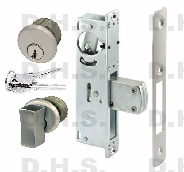 Adams Rite Type Commercial Deadbolt Lock W Lg T Turn