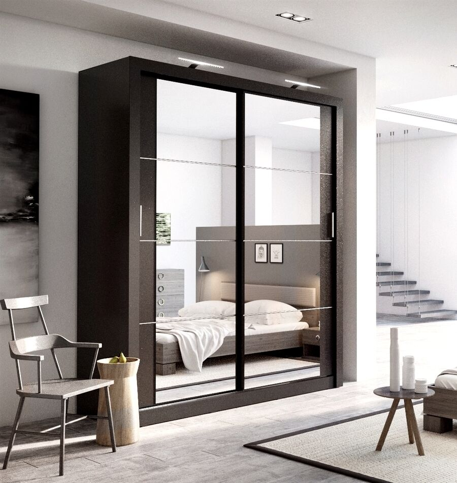 Brand New Modern Bedroom Sliding Door Wardrobe Arti 3 ...