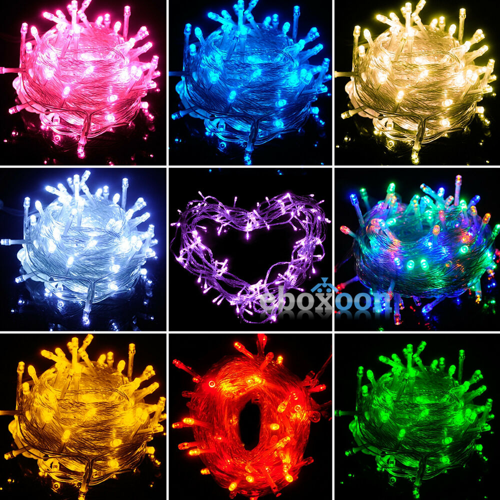 Bedroom String Lights Blue And Green Bedroom Themes Bedroom Sitting Chairs Bedroom Interior Small: Christmas Tree LED Fairy String Lights Home Party Wedding