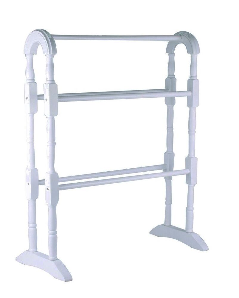 Floor Free Standing Towel Cloth Rail Party Rack Dryer Holder Hanger Shelf Holder Ebay