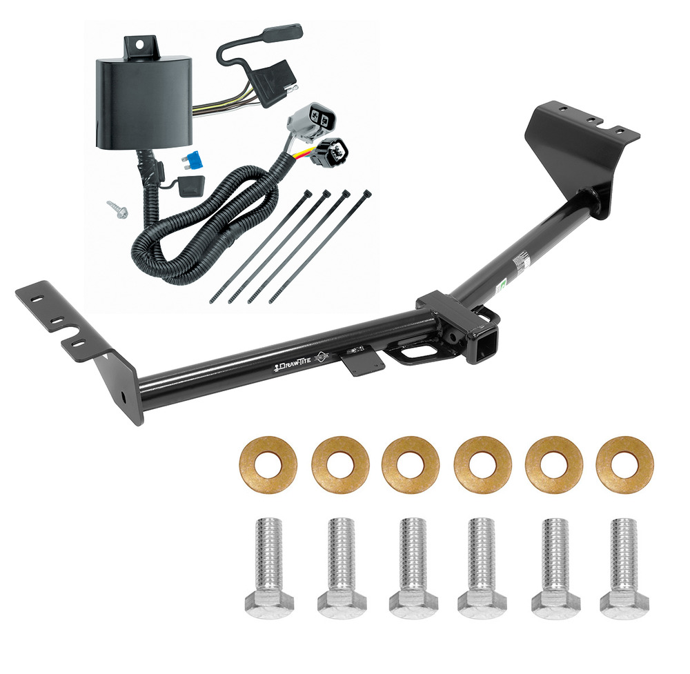 trailer hitch w wiring kit fits 2015 2017 kia sedona. Black Bedroom Furniture Sets. Home Design Ideas