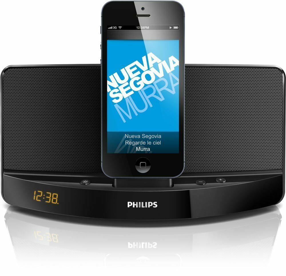philips ad305 37 charging portable mini speaker dock for. Black Bedroom Furniture Sets. Home Design Ideas