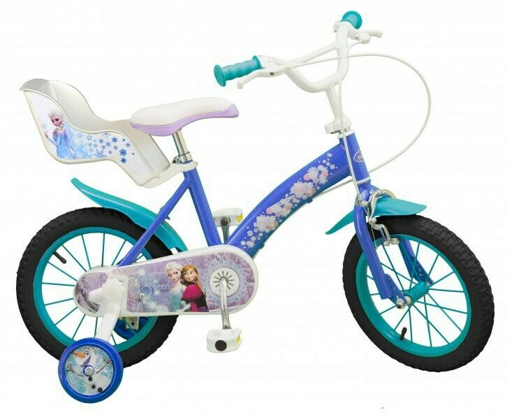 14 zoll m dchenfahrrad kinderfahrrad fahrrad frozen disney. Black Bedroom Furniture Sets. Home Design Ideas