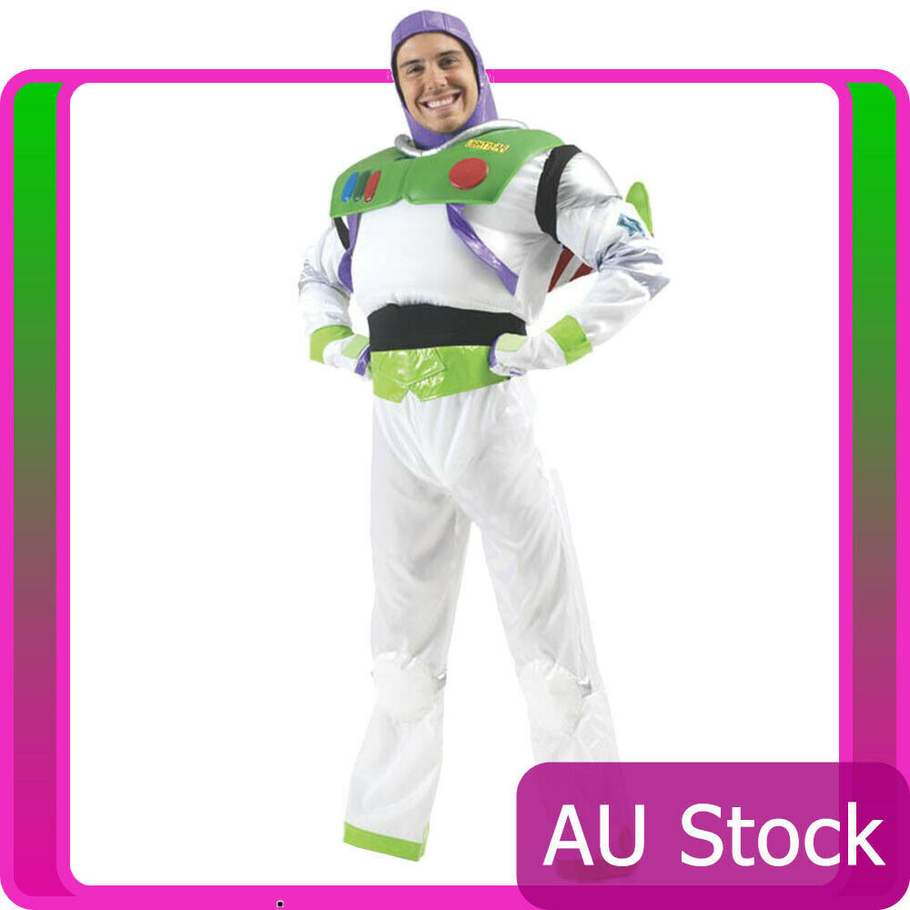 Details About Delux Buzz Lightyear Costume Toy Story Mens Disney Fancy Dress  Book Week Outfit