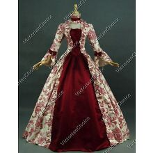 Victorian Dickens Christmas Caroler Yuletide Holiday Dress Ball Gown Theater 138
