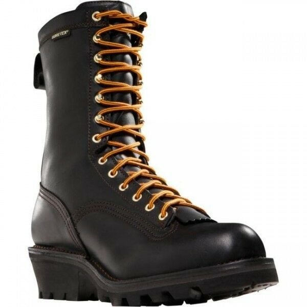 Danner 14537 10 Quot Quarry Black Logger Gore Tex Boot