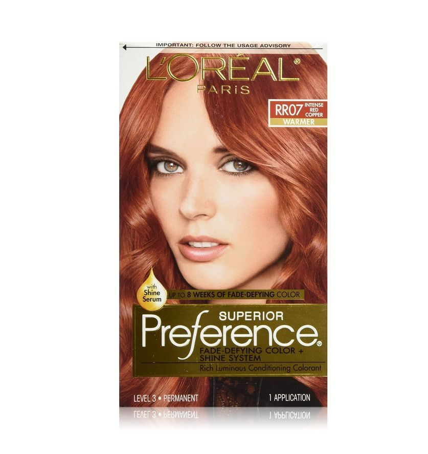 L Oreal Superior Preference Rr07 Intense Red Copper