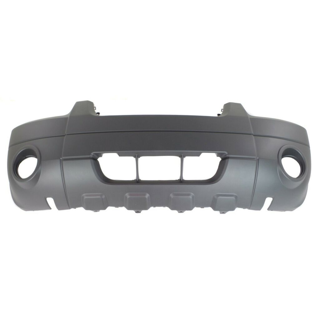 Front Bumper Cover For 2005 2007 Ford Escape Xlt Hybrid W