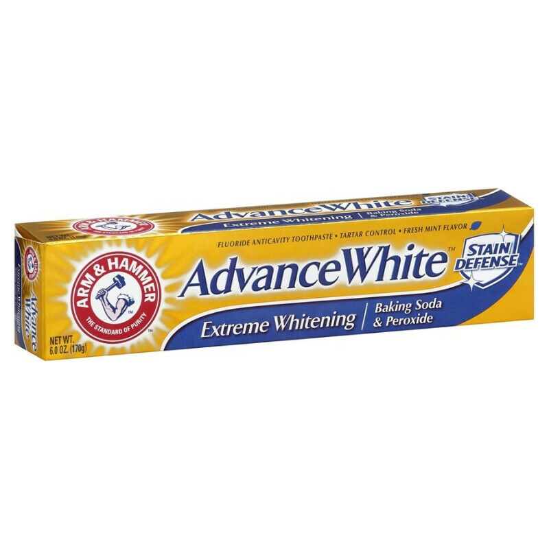 ARM - HAMMER Advance White Toothpaste Baking Soda and Peroxide Mint 6 oz (7 pa) | eBay
