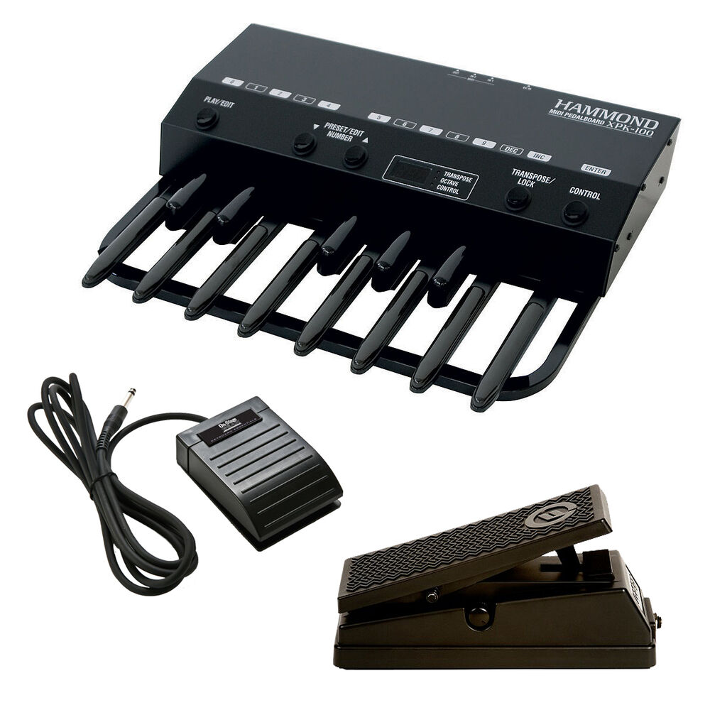 hammond xpk 100 13 note midi pedal board stage kit ebay. Black Bedroom Furniture Sets. Home Design Ideas