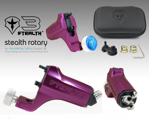 Stealth gen 3 0 aluminum rotary tattoo machine liner for Stealth tattoo machine