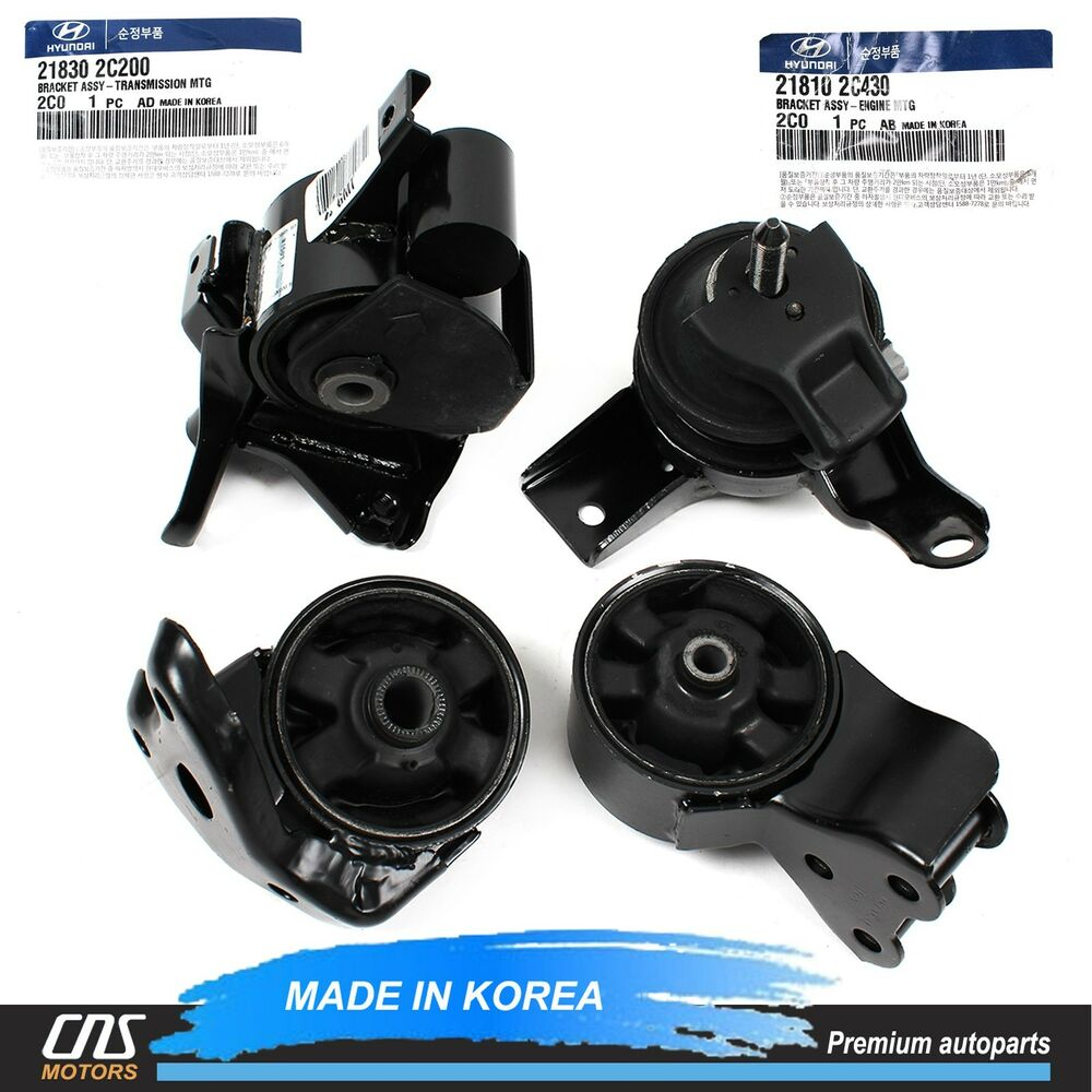 Genuine Engine Mount Transmission Mount Set M T For 07 08 Hyundai Tiburon 2 0l Ebay
