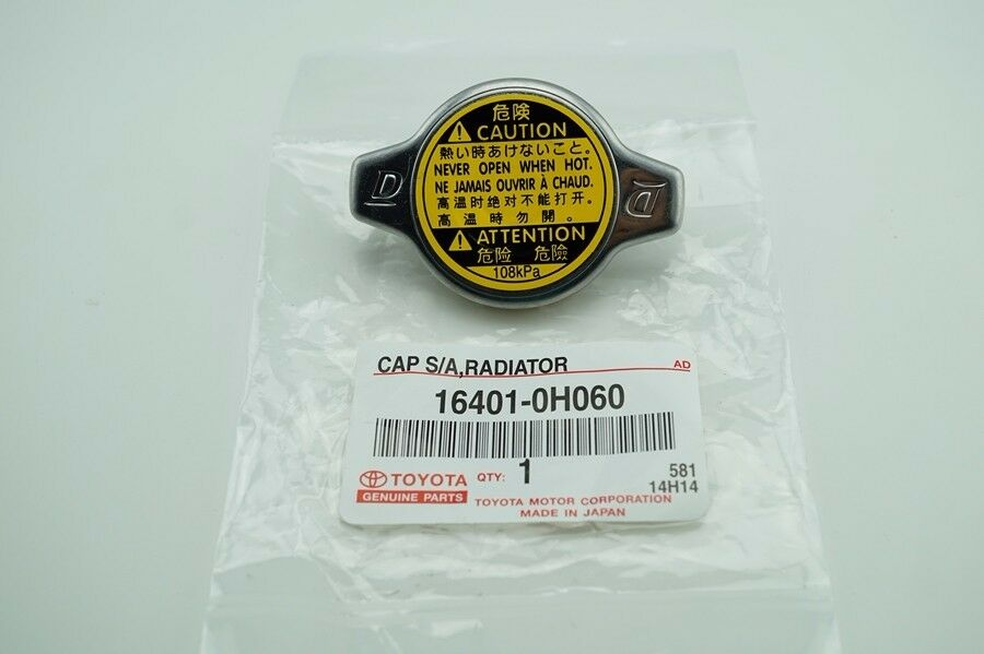 Genuine Radiator Cap For Toyota Part Number 164010h060 Ebay
