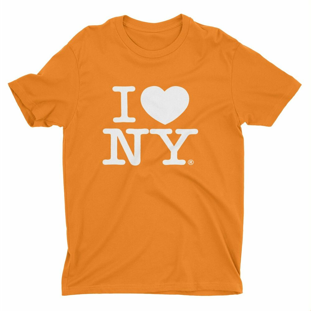I love ny new york short sleeve screen print heart t shirt for New york printed t shirts