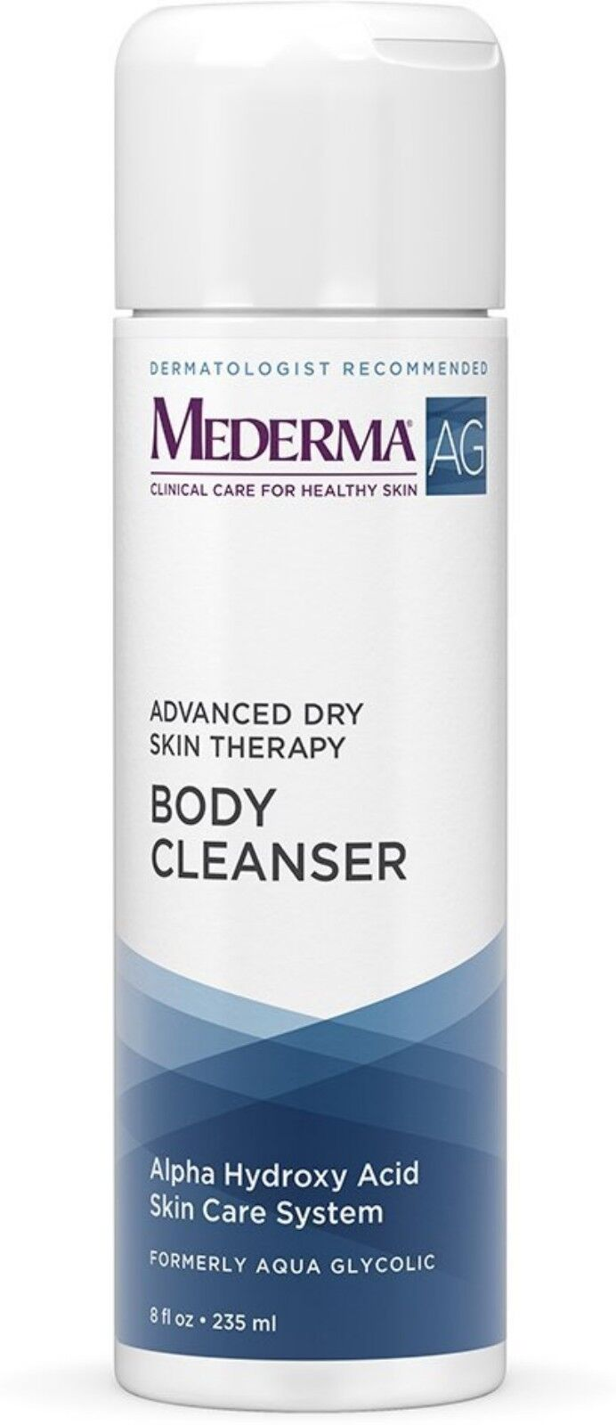 Mederma Ag Advanced Dry Skin Therapy Body Cleanser 8 Oz (pack Of 4)
