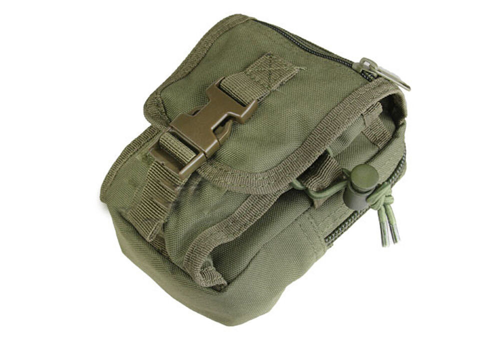 Condor Tactical Gadget Pouch Olive MA26-001 MOLLE PALS | eBay