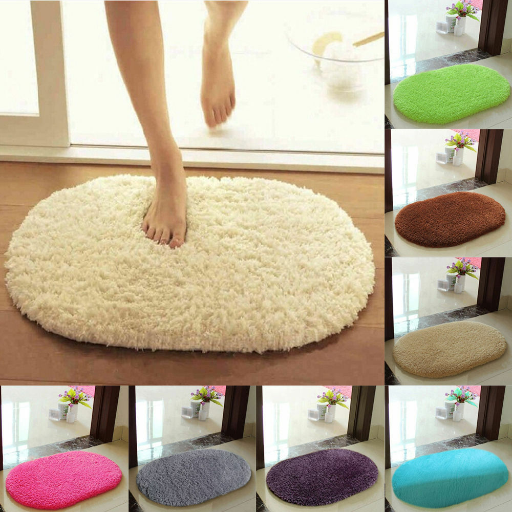 Absorbent Soft Bathroom Bedroom Floor Non Slip Mat Memory Foam Bath Shower Ru