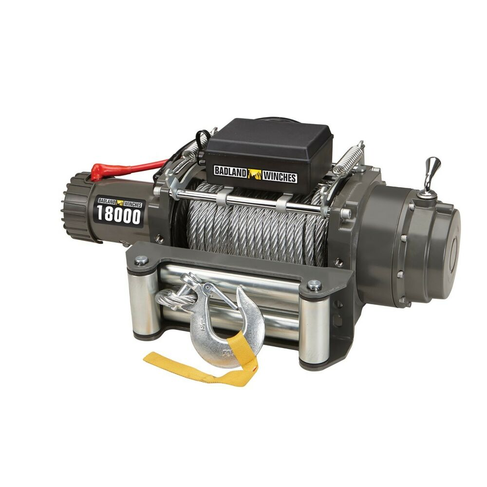 18000 Lb Industrial Tow Truck Electric Winch With