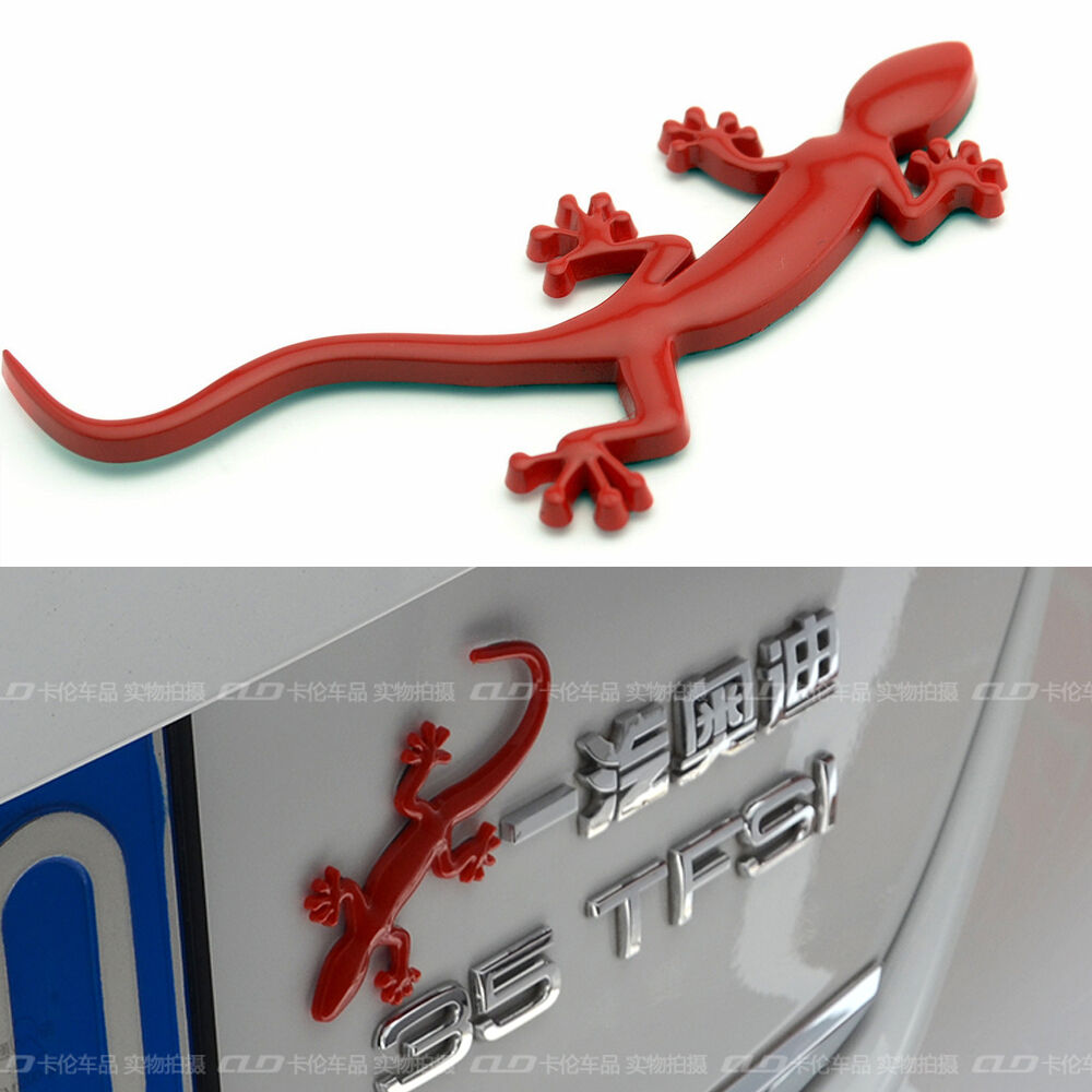 Lizard Gecko Car Badge For Audi Quattro A1 A4 A3 A5 Tt S3
