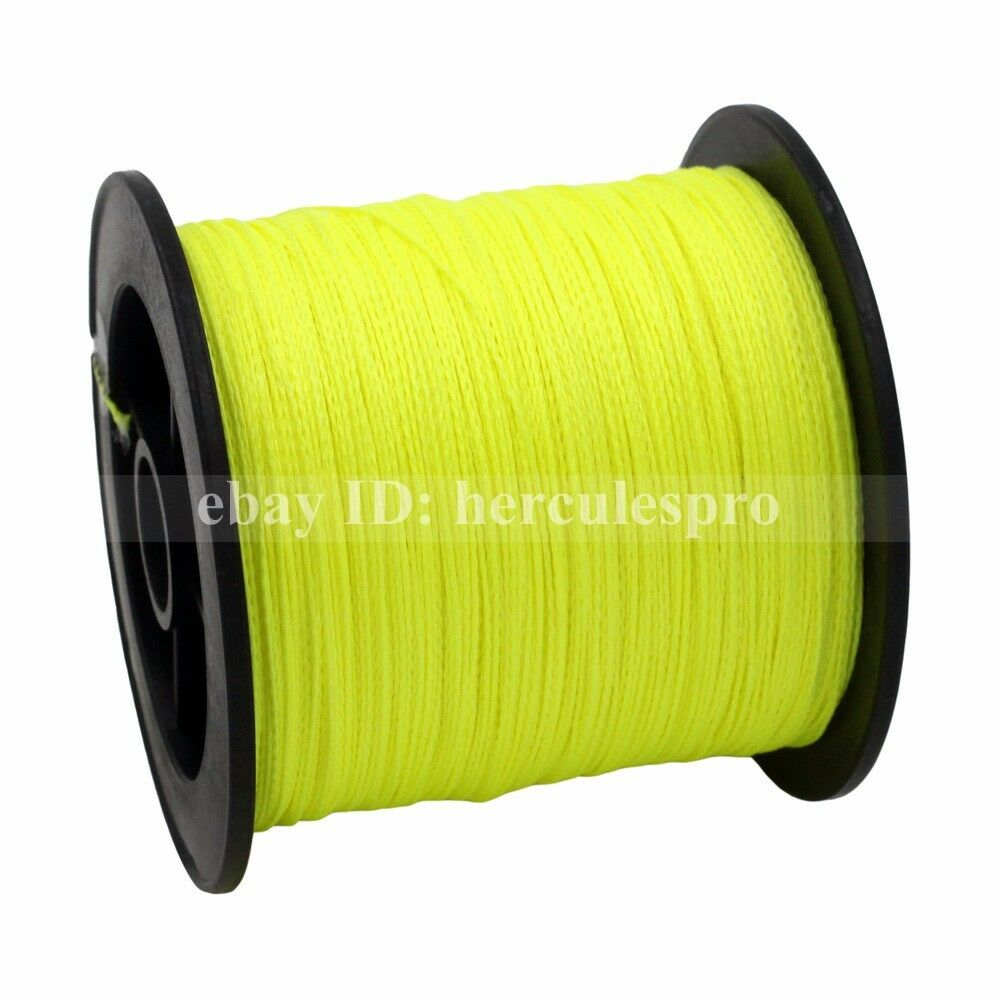 Hercules fluorescent yellow green spectra pe dyneema 10 for Fluorescent fishing line