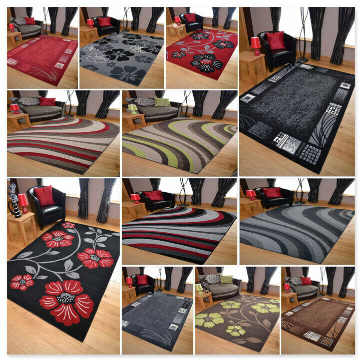 Modern Living Room Rugs Runners Mat Large Carpet Hallway