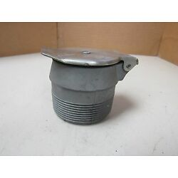 NEW NO NAME 2'' NPT THREADED TANK RESERVOIR FILL CAP HINGED RUBBER SEALED LID