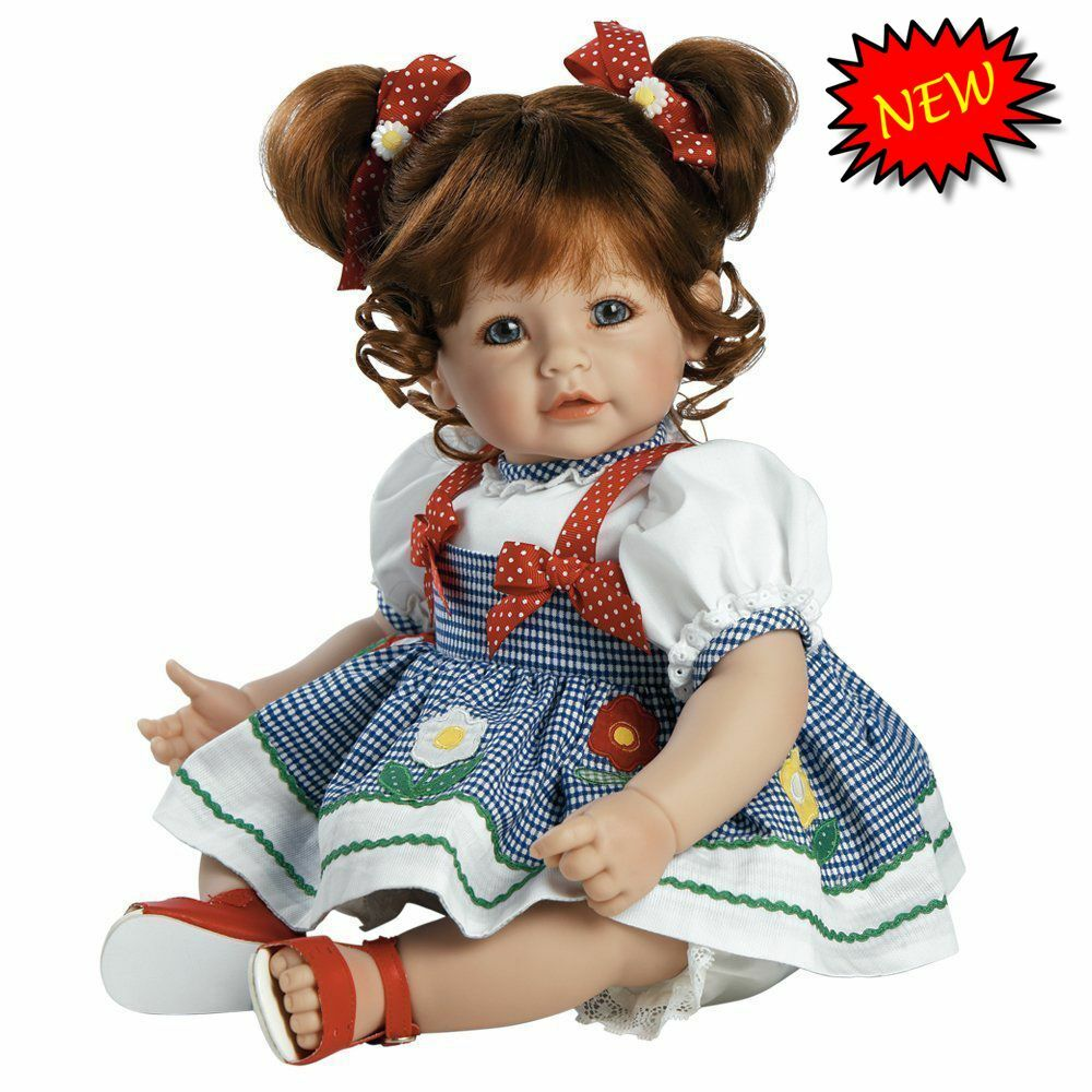 Realistic Baby Girl Doll Infant Vinyl Real Lifelike Cute