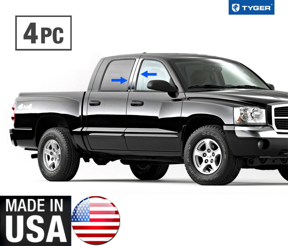 TYGER For 2005-2016 Dodge Dakota Crew/Quad Cab Chrome