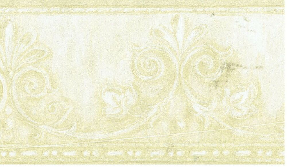 Decorative Wall Paper Trim : Victorian crown moulding architectural tan trim wallpaper