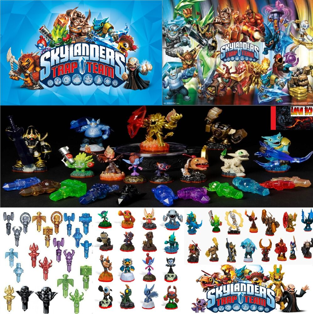 Skylanders trap team figurine et piege au choix choice collect them all 1 ebay - Tous les skylanders ...