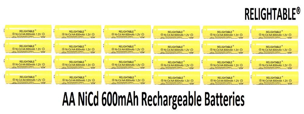 Rechargeable Nicd Battery 1 2v Batteries For Solar Autos