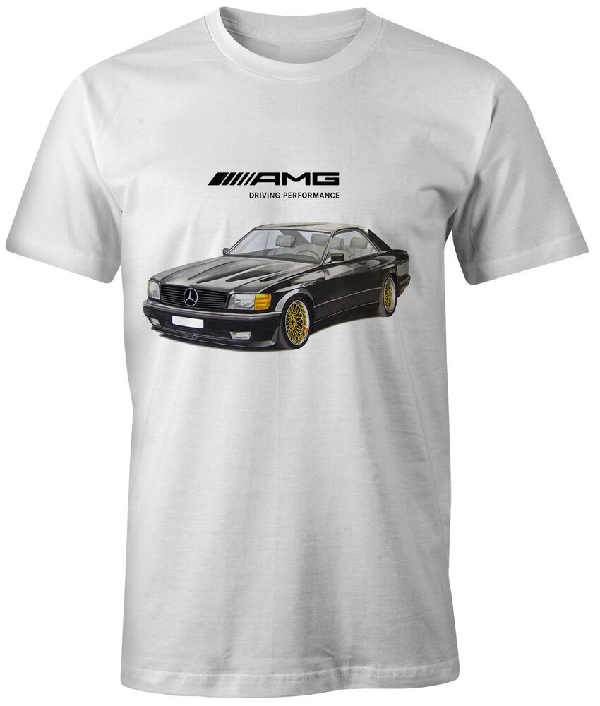 Mercedes new t shirt sec amg digitial printed personalized for Mercedes benz t shirt