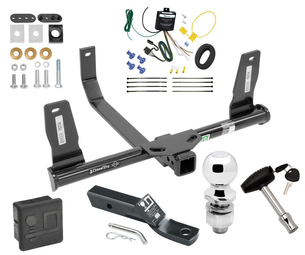 Complete Trailer Hitch Package W   Wiring Kit Fits 2010