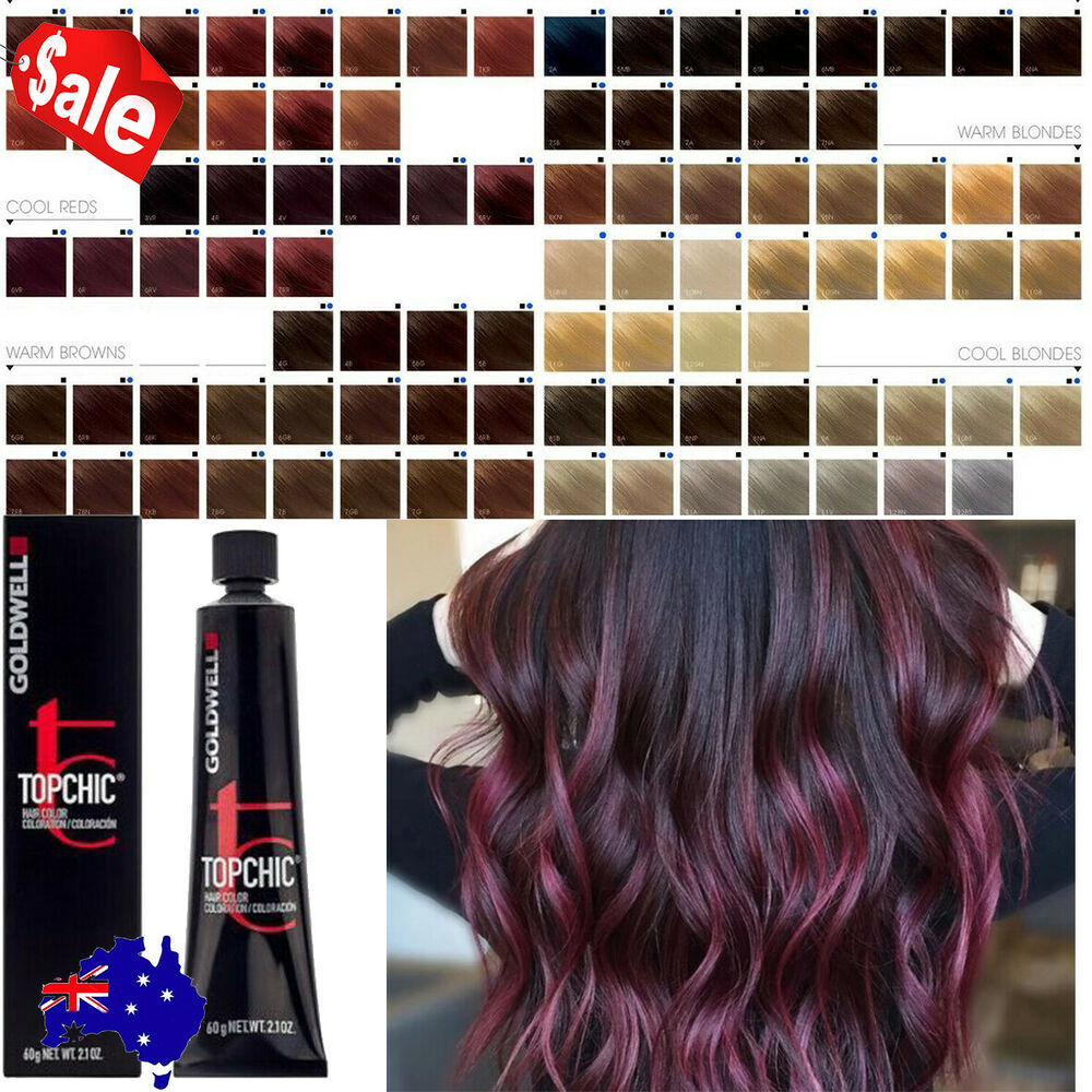 Goldwell Topchic Permanent Hair Color Cream 60ml Tube Cool Blondes