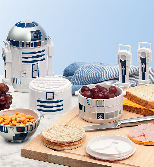 official licensed star wars r2 d2 bento lunch box ebay. Black Bedroom Furniture Sets. Home Design Ideas