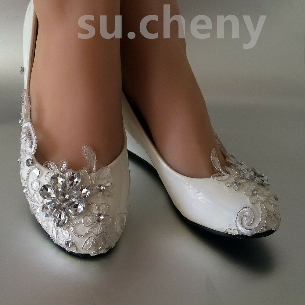 Find great deals on eBay for white lace flats wedding. Shop with confidence.