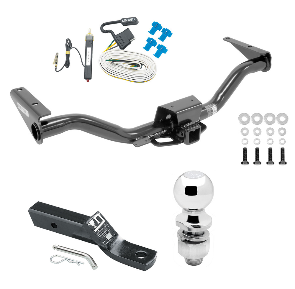 complete trailer hitch pkg w  wiring kit for 2015 17 chevy