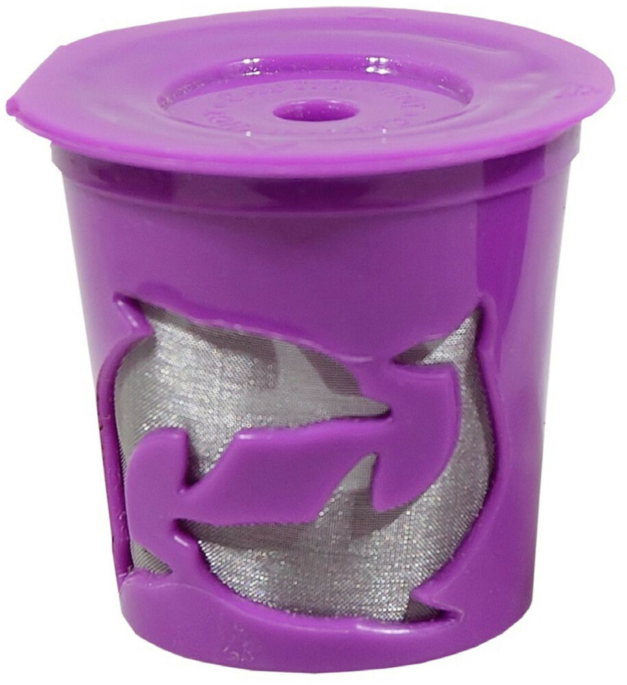 NEW Keurig 2.0 Coffee Filter Basket Reusable K-Cups Permanent Refillable Purple eBay