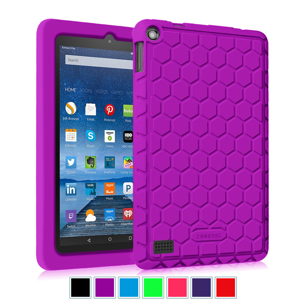 Fintie kiddie shock proof silicone case cover for amazon for Amazon casa