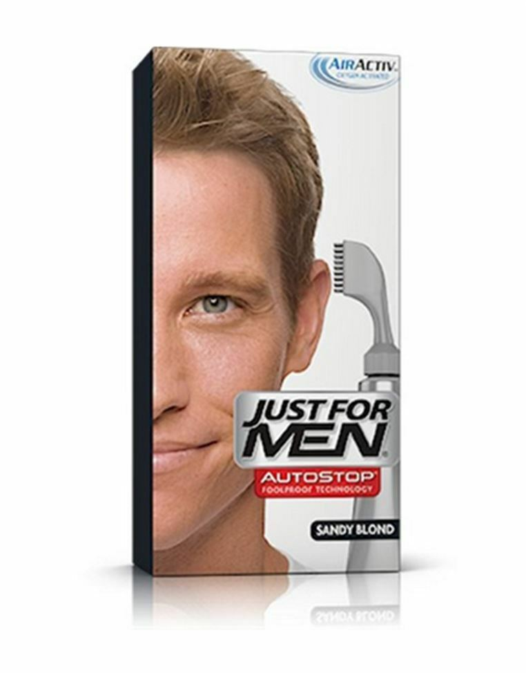 Just For Men Original Formula Haircolor is the traditional way to target % of your gray.