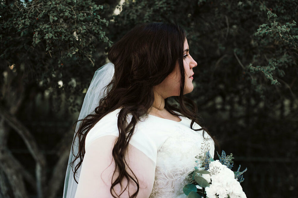 Ethereal plus size wedding dress size 22w modest lds for Temple ready wedding dresses
