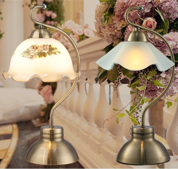 Quality Table Lamps: High Quality Retro Elegant Table Lamp Bedside Desk Light