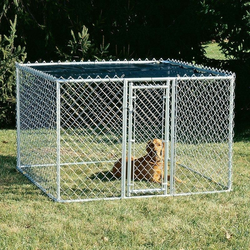 Chain Link Dog House