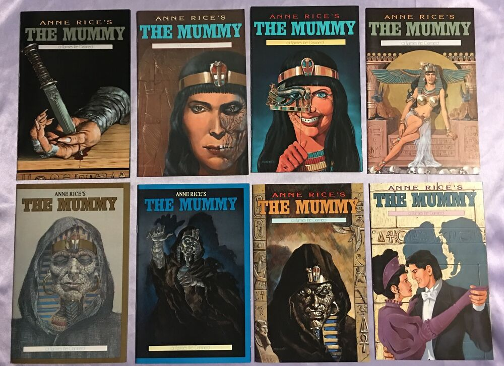 Anne Rice U0026 39 S The Mummy Or Ramses The Damned  1 2 3 4 5 6 7