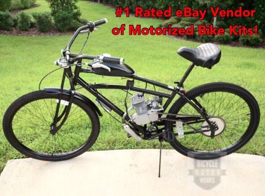 Schwinn Springer Bike And 66 80cc Engine Diy Motorized