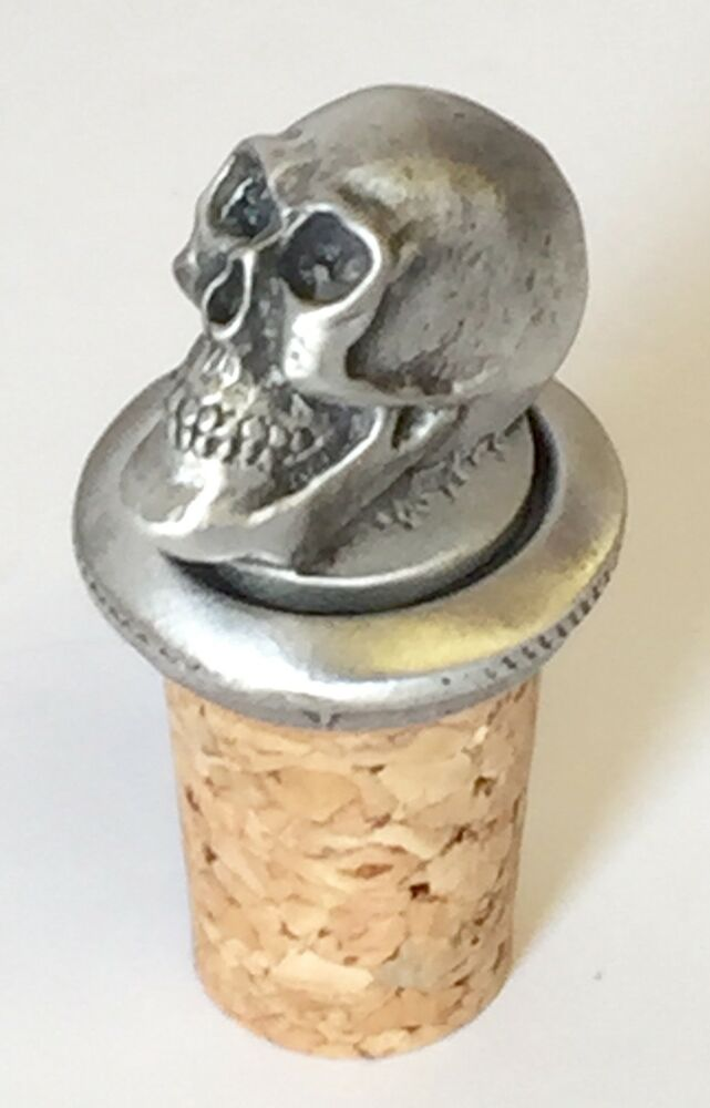 Masonic Emblems Of Mortality Skull Hand Crafted Pewter