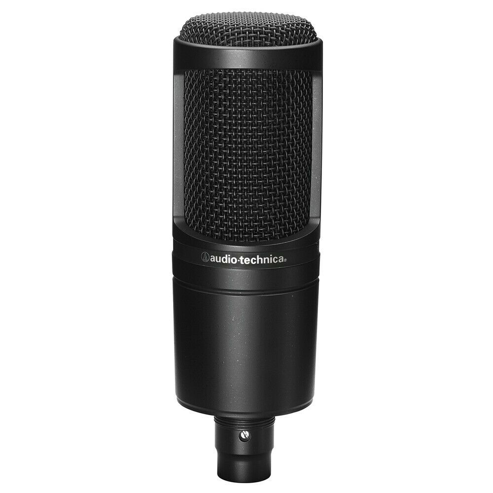 audio technica at2020 cardioid condenser microphone 686924566602 ebay. Black Bedroom Furniture Sets. Home Design Ideas