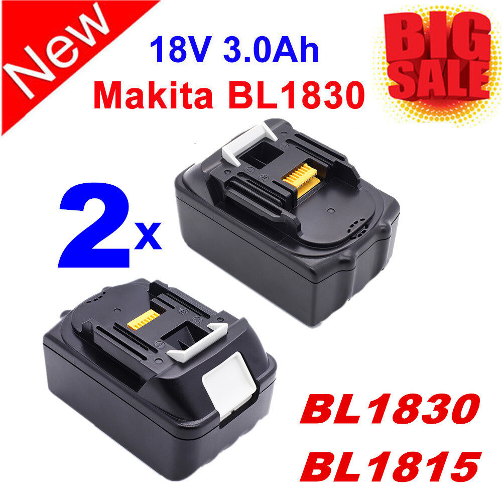 2x New 18 Volt 3 0ah 18v Lithium Ion Lxt Battery For
