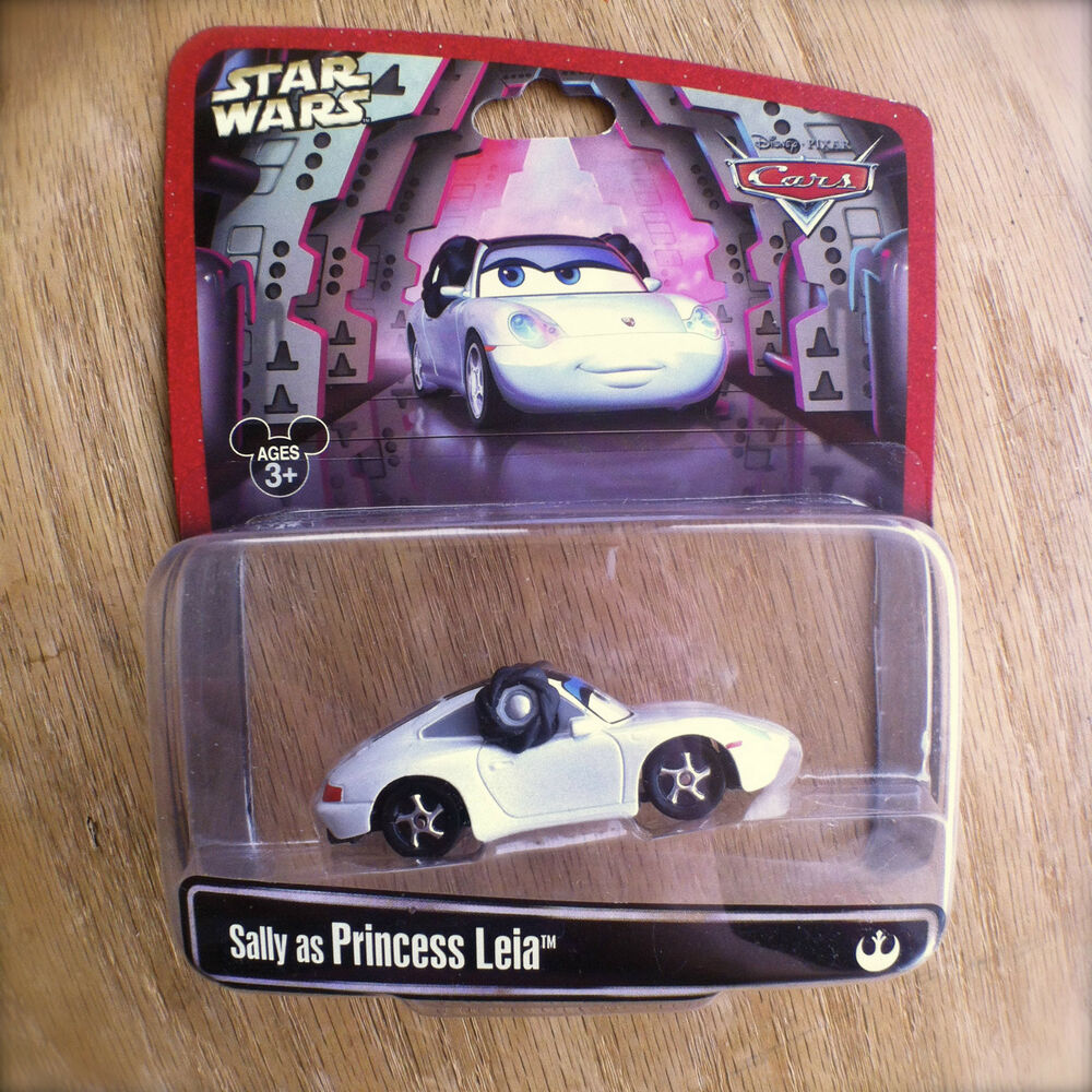 Disney Pixar Cars Star Wars Sally As Princess Leia Diecast